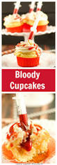 bloody cupcakes recipe halloween treats the o u0027jays and halloween