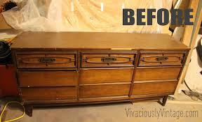 Modern Furniture Dressers by Ansley Designs 2 Tone Mid Century Modern