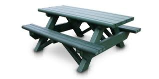 recycled plastic picnic tables rectangular 6 picnic table with a frame recycled plastic picnic