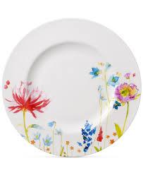 villeroy u0026 boch amnut flowers collection bone china dinner plate
