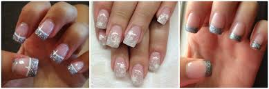 french nails with gold design how you can do it at home