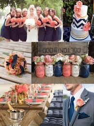 Coral Wedding Centerpiece Ideas by Cool Navy Blue And Coral Wedding Decorations 87 About Remodel