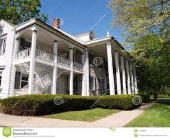 large front porch house plans large home with front porch with columns stock photo image 5173008