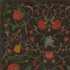floral abigail vinyl floor cloths choose size piper classics