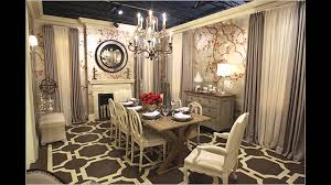 dining room trends elegant wallpaper for dining room decorating ideas youtube