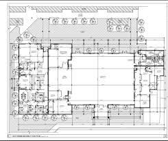 preschool floor plan layout development parish and student center building fund