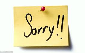 study shows that apologising can make rejection feel worse daily