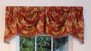 Valances For La Austrian Valances Pattern Solid Thecurtainshop Com