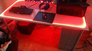 led bureau ledstrip in bureau