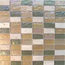 Stone Glass Tile Backsplash by Stone Glass Tile Natural Olive Blend Mineral Tiles