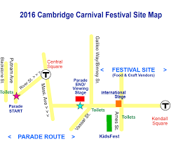 Map Of Cambridge Ma Parade Map Cambridge Carnival International