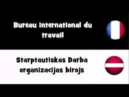 bureau international du travail traduction en 20 langues bureau international du travail