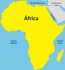 mapa de africa límites de áfrica con mapa saber es práctico