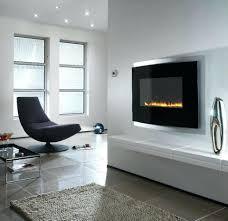 modern wall mounted fireplace slimline thin electric mount ultra