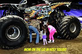 monster truck jam cleveland ohio monster jam fun mom on the go in holy toledo