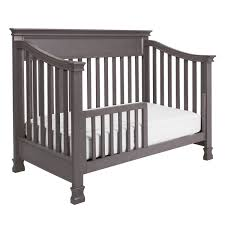 Black Baby Bed Million Dollar Baby Foothill 4 In 1 Convertible Crib In Weathered