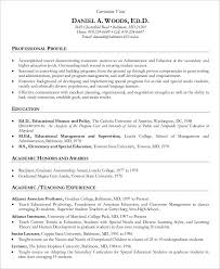 Sample Of Resume For Teachers by 8 Teaching Curriculum Vitae Free Sample Example Format