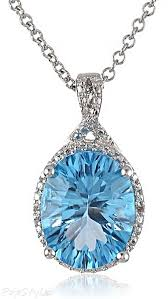topaz stone necklace images Swiss blue topaz diamond necklace clothes for gals pinterest jpg