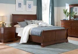Sleigh Bedroom Furniture Broyhill Rhone Manor Sleigh Bed