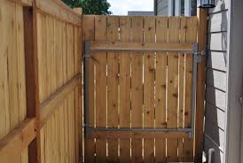 Backyard Gate Ideas How To Build A 6 Foot Privacy Fence
