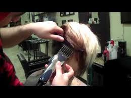 female haircutting videos clipper short hair cut blending thick hair scissors clipper cut youtube