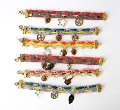 diy bracelet with charm images Diy lace charm bracelets hello glow jpg