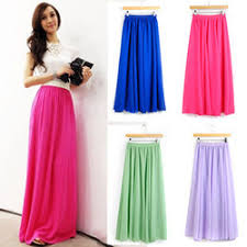Long Flowy Maxi Skirt Long Bright Coral Maxi Skirt On The Hunt