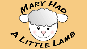 mary had a little lamb sing along song for children youtube