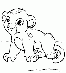 simba coloring pages coloring pages for pride coloring home
