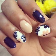 cool flower nail designs how you can do it at home pictures