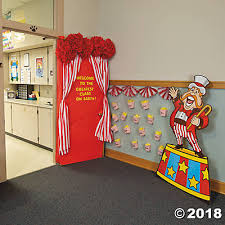 carnival decorations door decoration idea