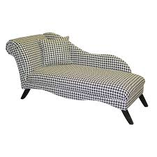 cosmo chaise lounge hollywood glam houndstooth hayneedle