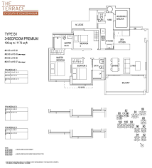 Ecopolitan Ec Floor Plan by The Terrace Punggol Waterways Executive Condos Singapore