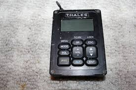 thales military army prc 148 mbitr radio vehicle vrc adapter