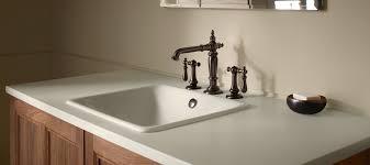 countertop surfaces bathroom kohler