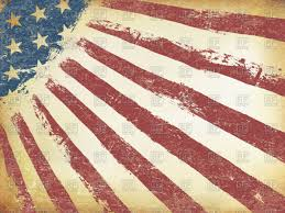 Dirty American Flag Grunge Aged American Flag Background Royalty Free Vector Clip Art