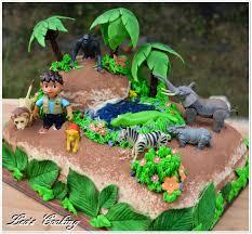 jungle theme cake lea s cooking diego jungle cake tutorial