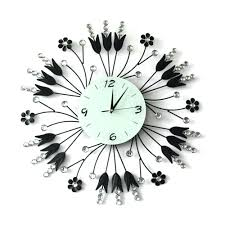 tide wall clock wholesale home decoration big number mirror wall