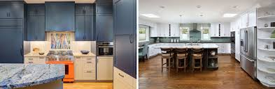 matte black kitchen cabinets paint creating contrast with kitchen cabinets harrell remodeling
