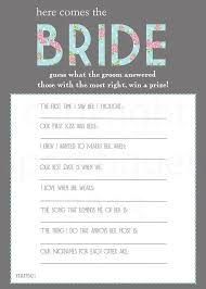 bridal shower question best bridal shower questions 99 wedding ideas