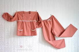 free pattern pajama pants girl pajamas 5 to 12 years old free sewing pattern craft passion