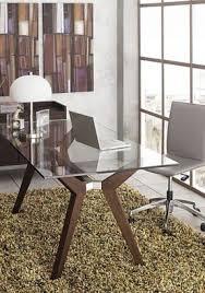 Glass Office Desk Office Desk Glass Top Foter