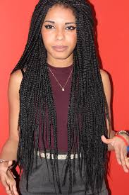 retro box braids and a cute way to give your hair a rest