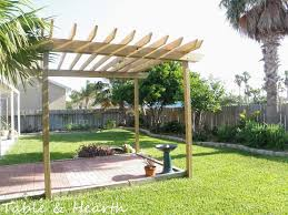 project diy pergola part 3 pergolicious table and hearth