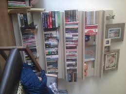 a simple bookcase made from pallets and a few 1x4 u0027s library