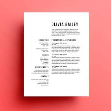 8 creative and appropriate resume templates for the non graphic