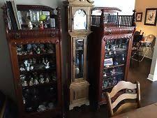 Curio Cabinets Pair Victorian Antique Curio Cabinets Ebay