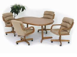 modren dining room chairs with rollers and more on casters by