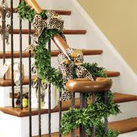 Decorating Banisters For Christmas How To Measure For Wreaths And Garland How To Decorate