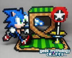 sonic the hedgehog cake topper sonic the hedgehog green hill zone decoration cake topper